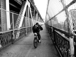On the Manhattan Bridge
