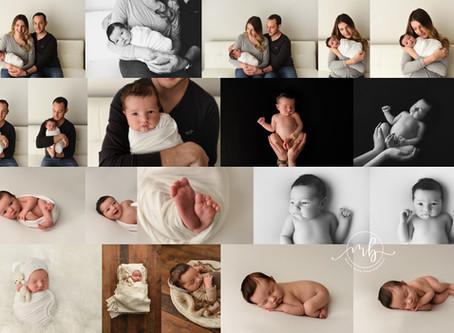 Fergus Newborn Photographer | Sample Newborn Session Gallery
