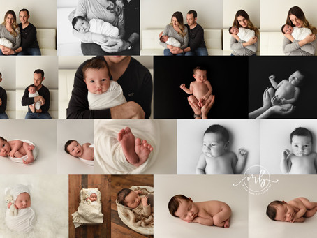 Fergus Newborn Photographer | Sample Newborn Session Gallery