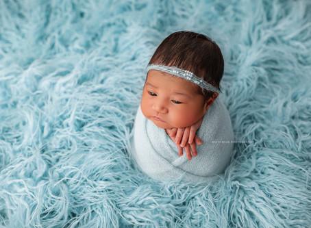 Fergus Newborn Photographer | Studio Newborn Session | Baby S