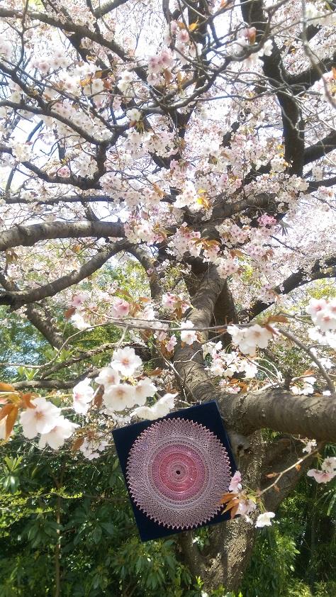 糸かけマンダラ(M.Oさま)
