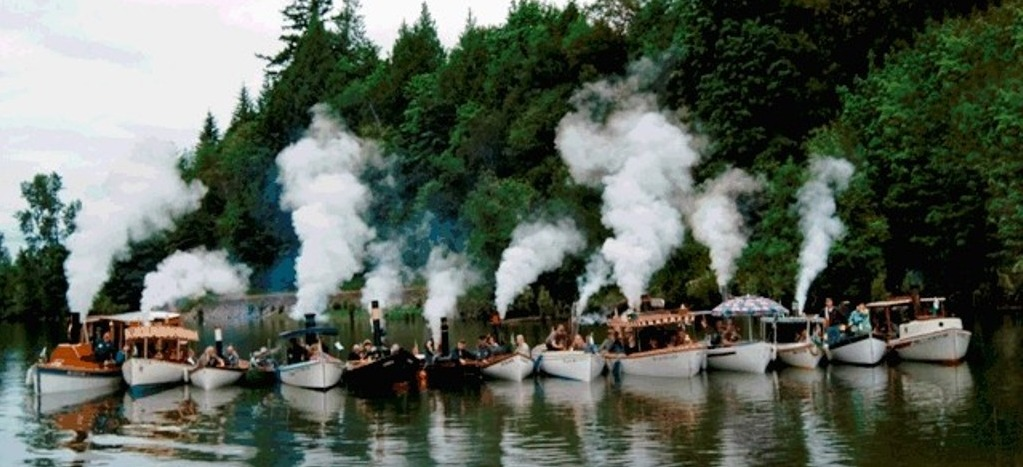 NWSS fleet letting off some steam.