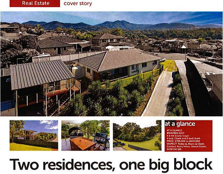 East Cost Granny Flats Real Estate Cover Story