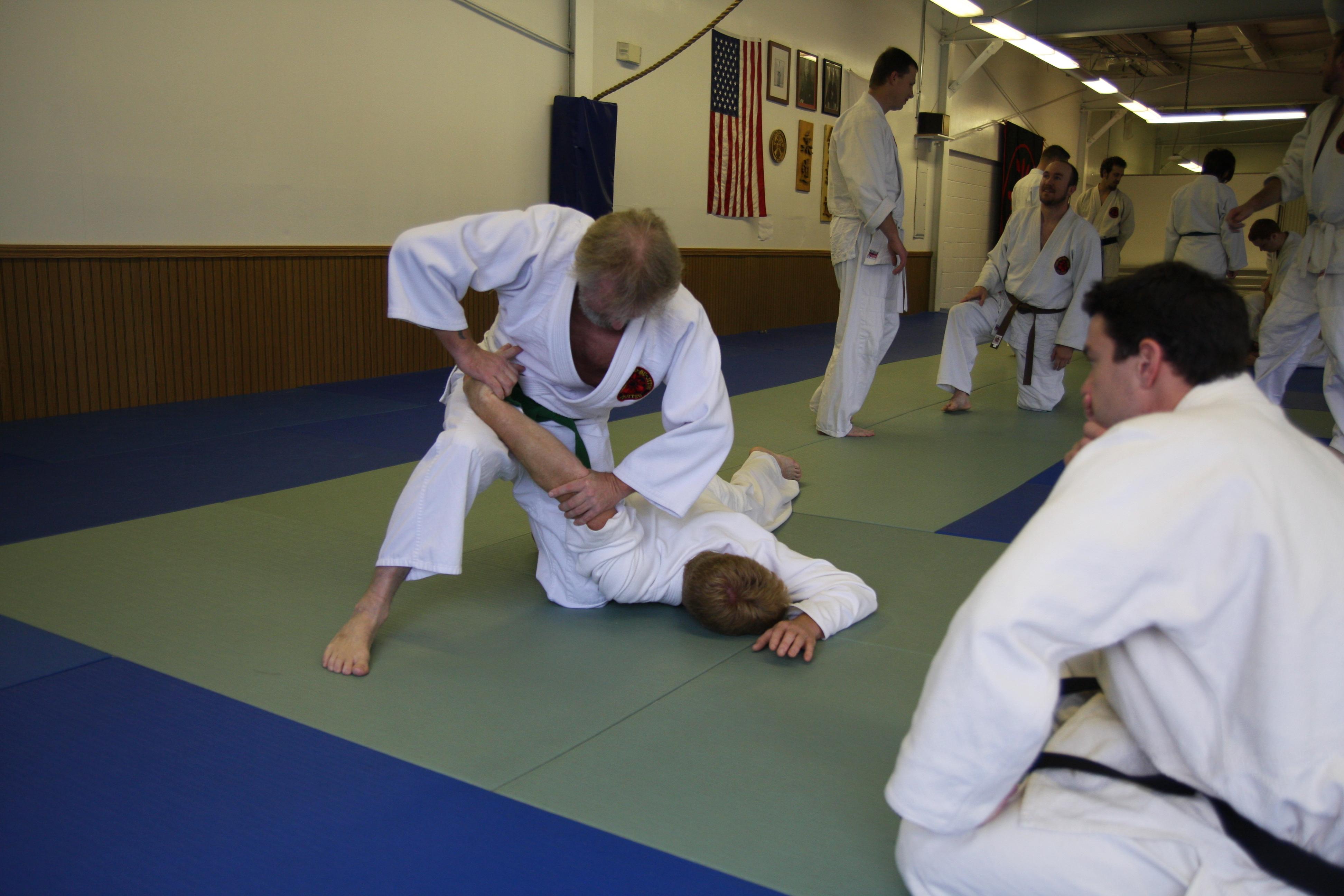 Shobudo Jujitsu - Armbar
