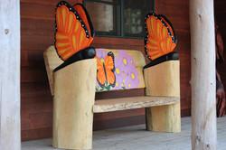 Alonzo Montoya Chainsaw Carved Bench 11.JPG