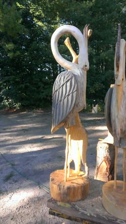 Alonzo Montoya Chainsaw Carved Bird 7.jpg