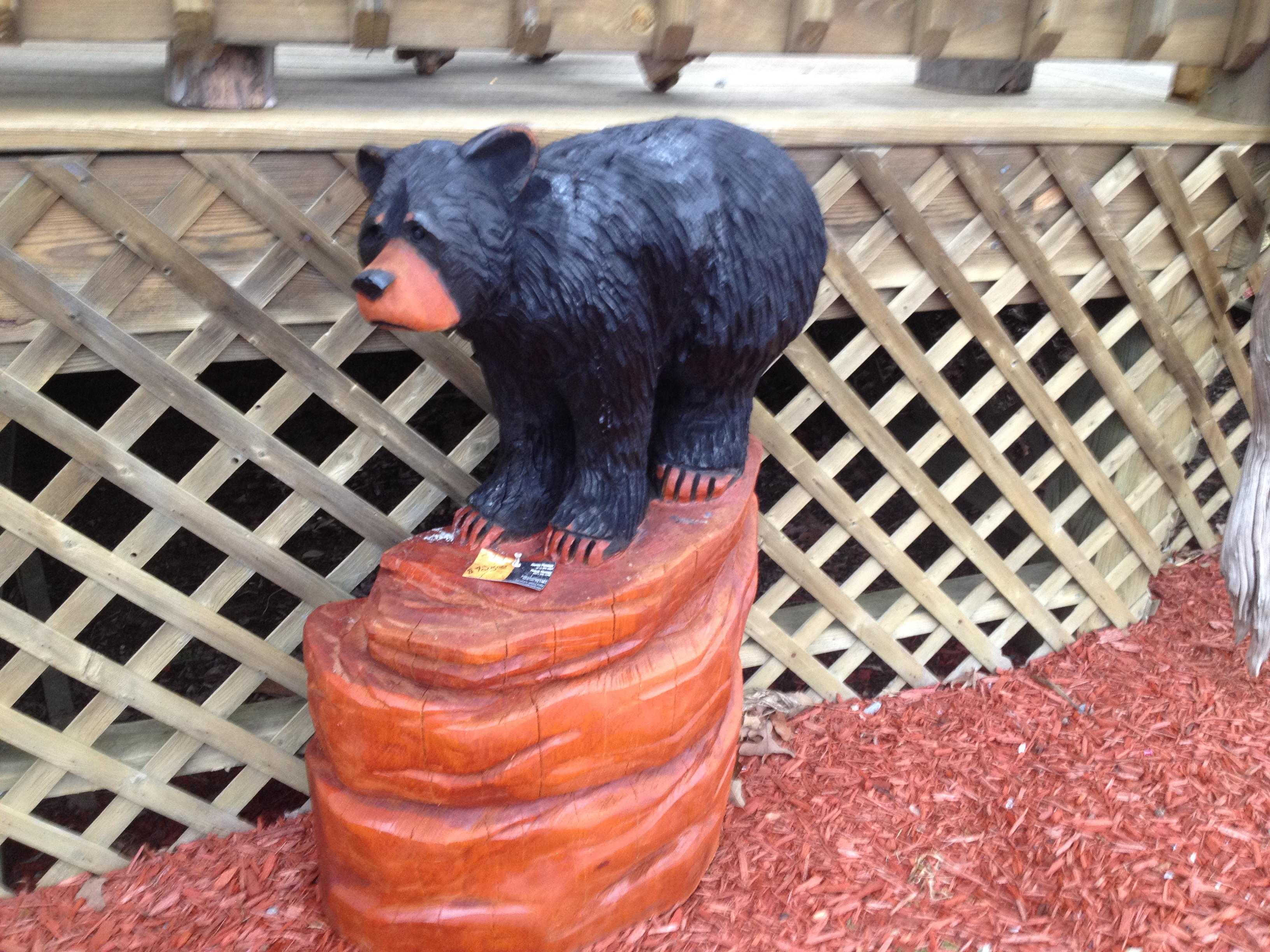 Alonzo Montoya Chainsaw Carved Bear 4.JPG