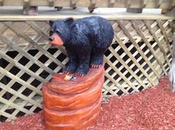 Alonzo Montoya Chainsaw Carved Bear 4.JPG