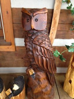 Alonzo Montoya Chainsaw Carved Bird 12.jpg
