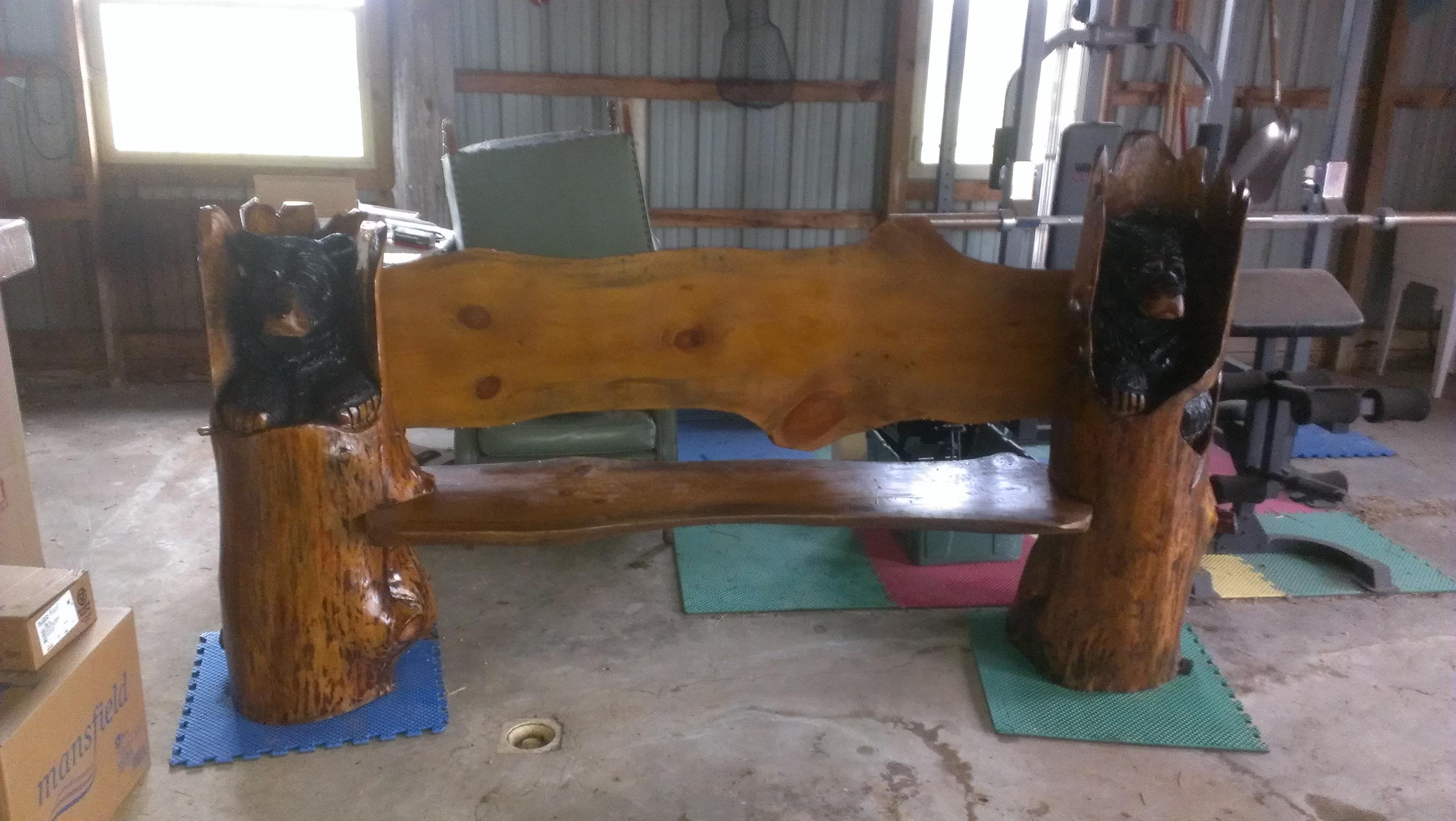 Alonzo Montoya Chainsaw Carved Bench 5.jpg