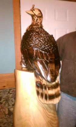Alonzo Montoya Chainsaw Carved Bird 3.jpg