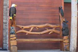 Alonzo Montoya Chainsaw Carved Bench 12.1.JPG