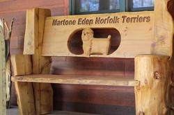 Alonzo Montoya Chainsaw Carved Bench 19.JPG