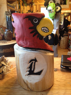Alonzo Montoya Chainsaw Carved Bird 17.jpg