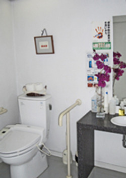トイレはバリアフリー