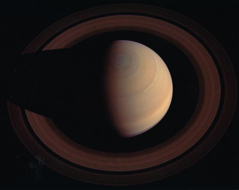 土星とリング