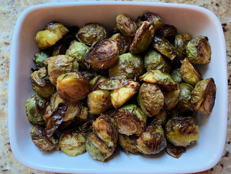 Recipe: Maple Balsamic Brussels Sprouts (Vegan, Gluten Free)
