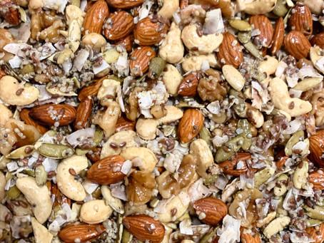Recipe: Homemade Baked Paleo Granola