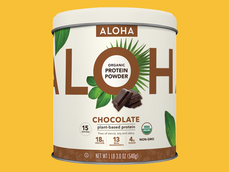 Aloha Vegan Protein Products Review