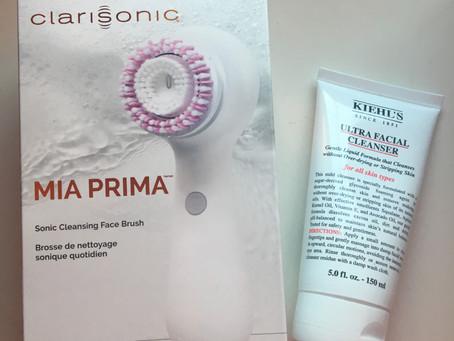 My experience: Clarisonic Mia Prima Device + Kiehl's Cleanser