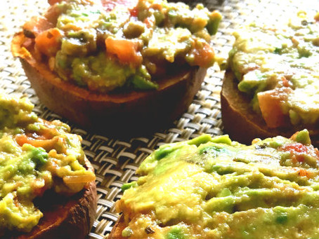 Recipe: Sweet Potato Guacamole Sliders
