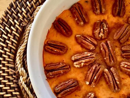 Recipe: Sweet Potato Casserole – Vegan, Gluten Free, Grain Free
