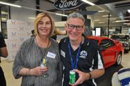 WinA committee member Michelle Sellars and Geelong Museum of Motoring volunteer Lindsay Mole