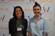 WinA Manager Dr. Imogen Reid and Geelong Deput Mayor Cr. Kylie Grzybek