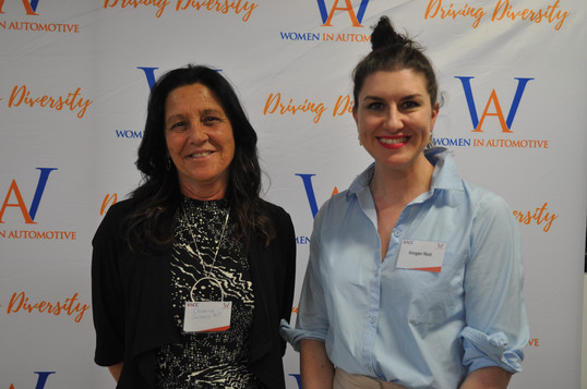 WinA Manager Dr. Imogen Reid and Geelong Deput Mayor Cr. Kylie Grzybek