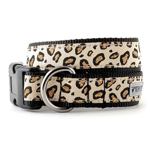 Cheetah Tan Collar and Lead Collection
