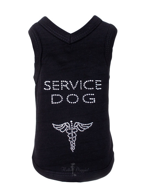 Service Dog Tank by Hello Doggie