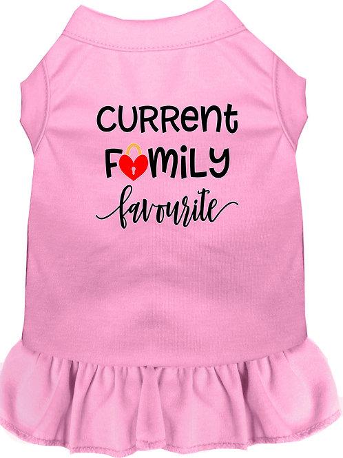 Current Family Favorite Dog Dress