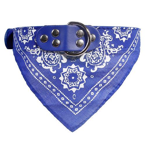 Bandana Dog Collar -Blue