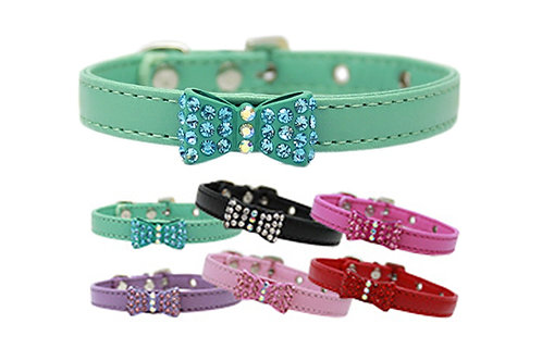 Bow-dacious Crystal Collar