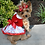 Thumbnail: Holiday Dog Harness Dress - Candy Canes