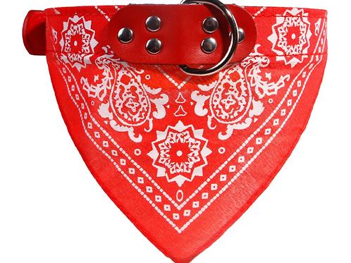 Bandana Dog Collar - Red