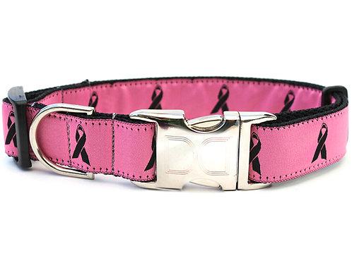Breast Cancer Awareness Collar - Pink