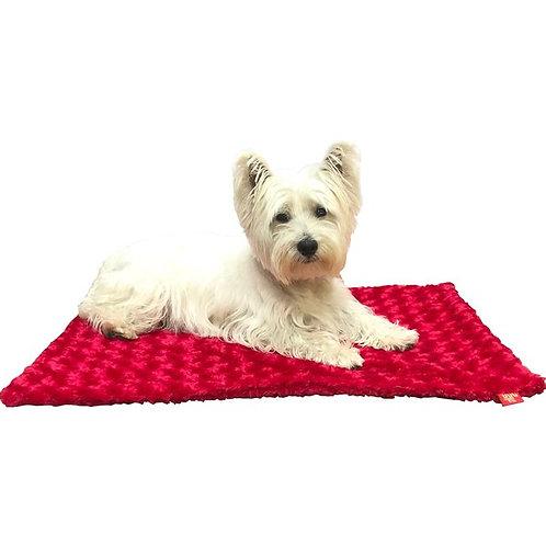 Rosebud Blanket - Red