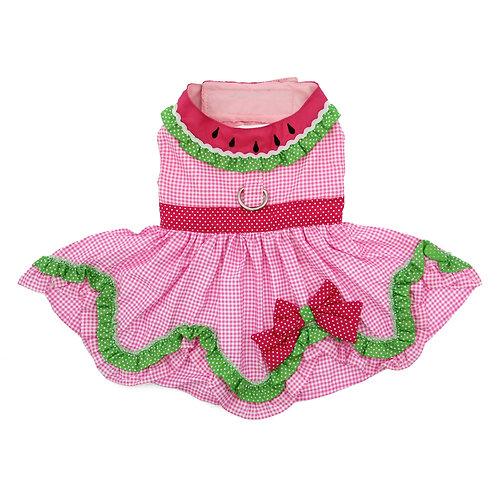 Watermelon Dog Dress by Doggie Design