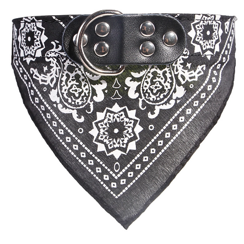 Bandana Dog Collar - Black