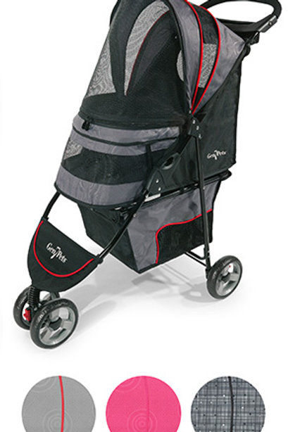 Regal™ Plus Grey Shadow Pet Stroller (pets up to 25 lbs)
