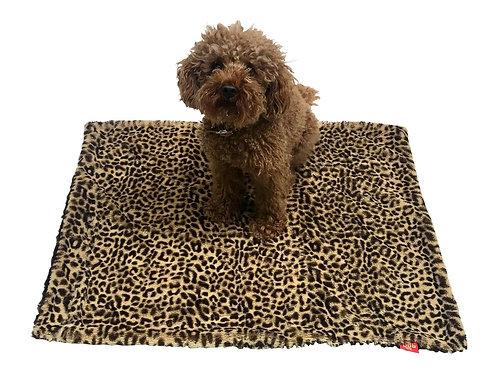 Brown Cheetah Minkie Blanket