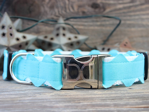 Brick-a-Bark Collar - Blue