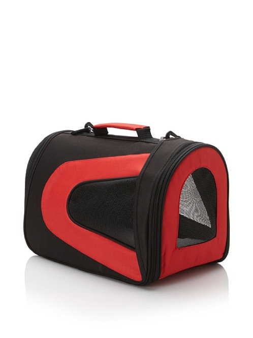 Red Collapsible Sporty Pet Carrier