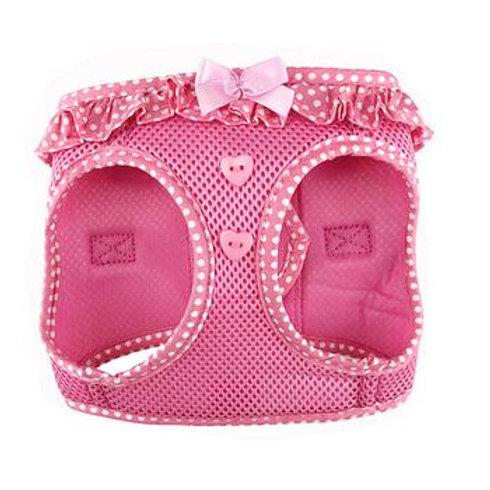 American River Choke Free Harness - Pink Polka Dot