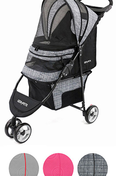 Regal™ Plus Starry Night Pet Stroller Gray (pets up to 25 lbs)
