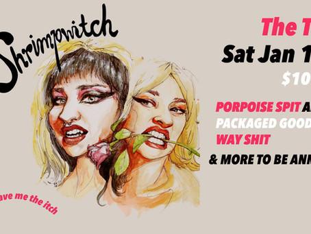Shrimpwitch Album Launch
