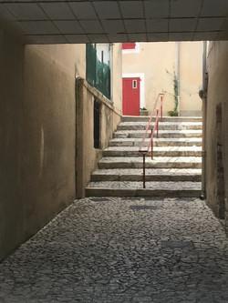 Steps, Red Door_1485