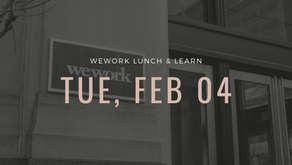 WeWork Lunch & Learn Speaking Event