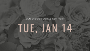 San Diego Floral Support| Speaking Event